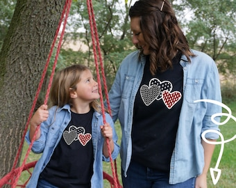 Mom and Me Valentine's Day Shirt