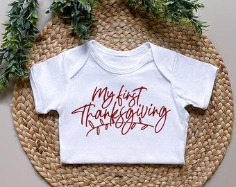 Baby's First Thanksgiving Bodysuit