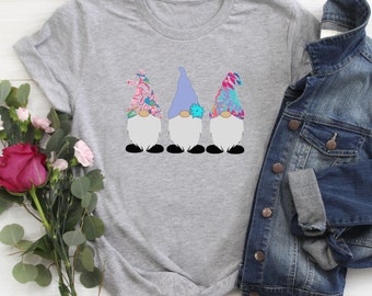 Spring Gnome Gnomes Women's Unisex Fit Shirt