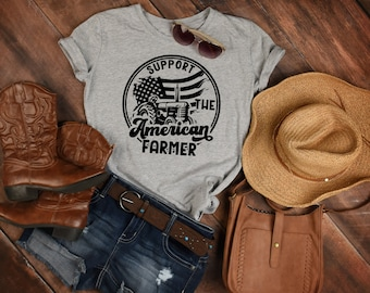 Support the American Farmer Graphic Tee