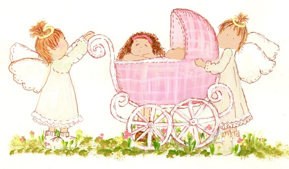 Granddaughter Christening Or Birthday Greeting Card Etsy