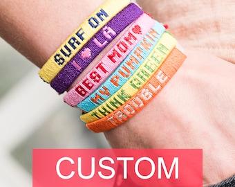 friendship bracelet custom