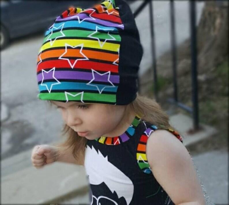f118b8fe1bb Shmelly Fer Slouch Beanie Hat PDF Sewing Pattern