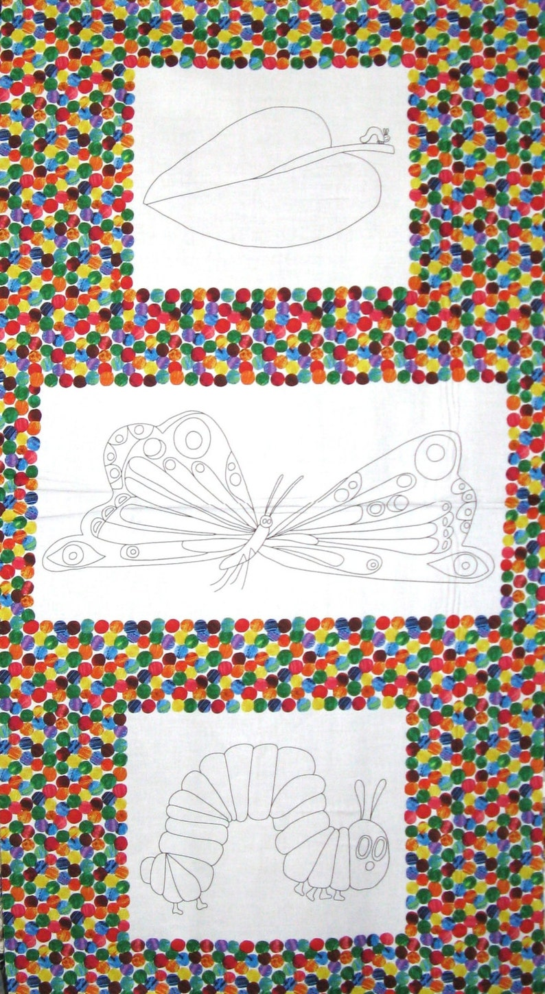- Eric Carle The Very Hungry Caterpillar Coloring Book Cotton Etsy