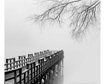 lake house art, lake photo, black and white lake print, black and white photography, art for lake house, minimalist photography, minimal