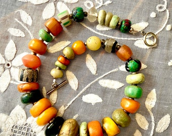Bead collection on a string!