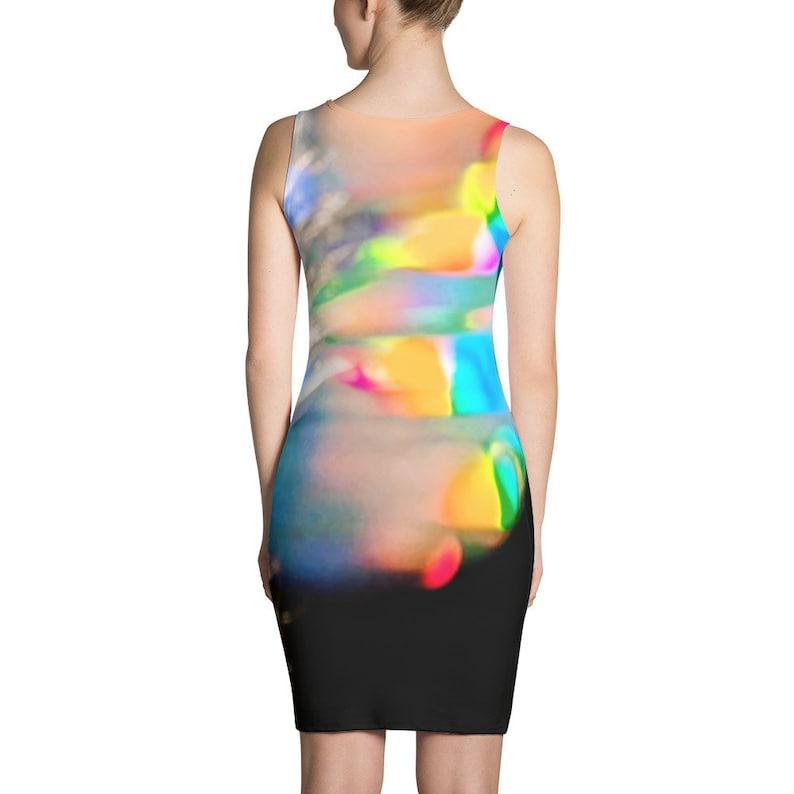 Ectoplasm  Vaporwave Sublimation Cut /& Sew Dress