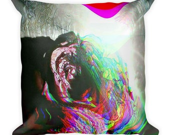 Rose Oil Heritage of Light Square Pillow