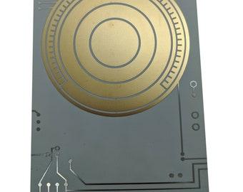 Metal Death Star Plans Data Card - Rogue One - **BONUS** Free Hope Display Stand