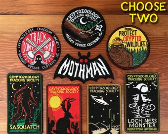 2 PATCH PACK: Cryptozoology Tracking Society
