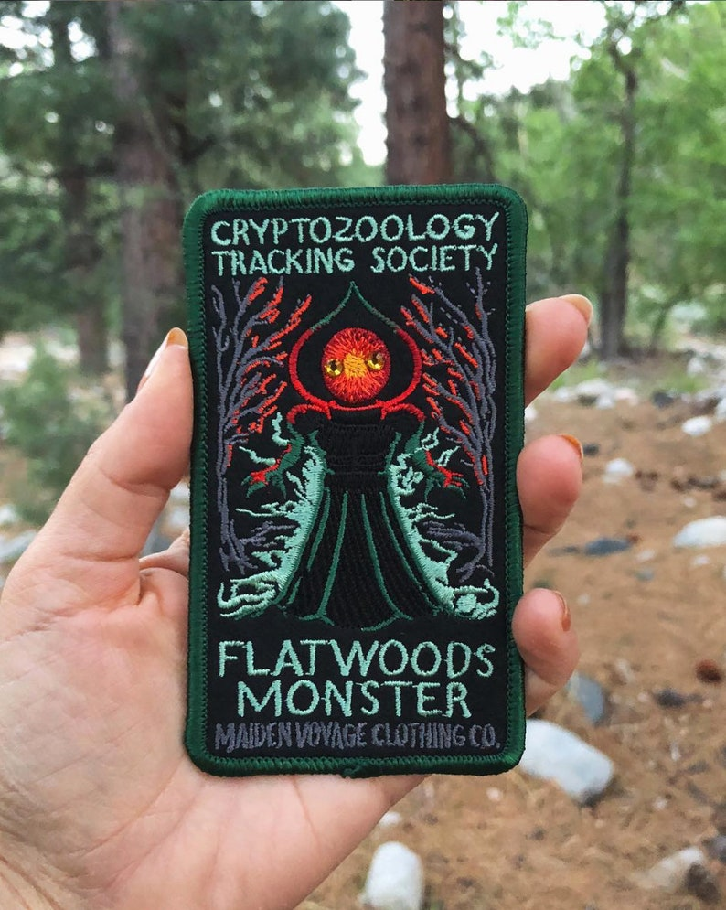 Cryptozoology Tracking Society: Flatwoods Monster Patch