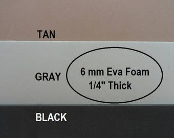 Eva Foam, 6 mm Foam Insole Shoe Padding, Shoe Cushion, One Sheet 9 X 12, Shoe Making Supplies, Cosplay