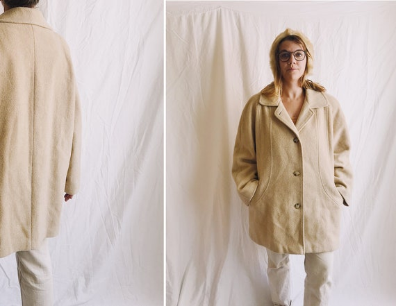 1970s Pure Wool Oversized Winter Coat