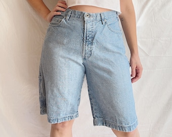 1990s Silver Clothing Company Carpenter Denim Shorts - Made in Canada