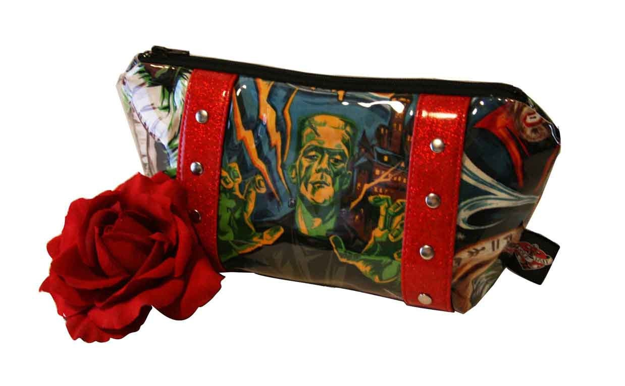 Monster Makeup Bag with Your Choice of Vinyl Trim MADE TO ...
