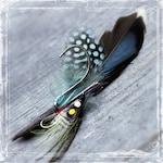 Fisherman Boutonniere - Outdoorsman - Fishing Angler Wedding - Outdoor Weddings - Groom Groomsmen - Father Of The Bride or Groom