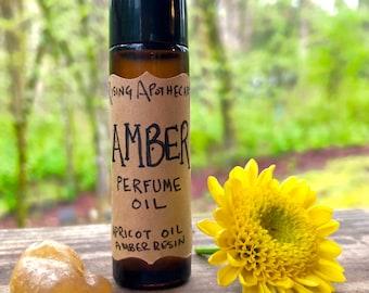 Amber Perfume Oil amber resin