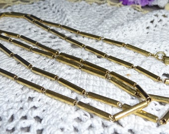 33 Inch Vintage Chain Necklace Monet Necklace Vintage Necklace Monet Chain Necklace Gold Chain Silver Chain Bi1 Chain Necklace