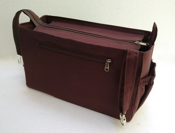 cd6b34104 Purse organizer for Louis Vuitton Neverfull MM with Zipper closure- Bag  organizer insert