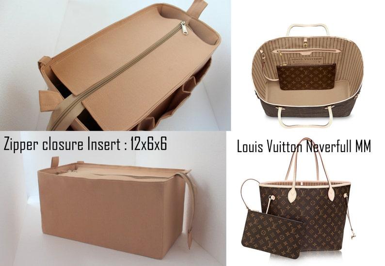 79a8fc2a9dcb6 Organizator torebka Louis Vuitton Neverfull mm z zamek   Etsy