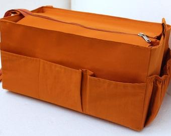 Purse organizer for Louis Vuitton ONTHEGO GM with Zipper closure- Bag organizer