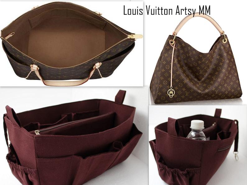 Purse organizer for Louis Vuitton Artsy MM Bag organizer  0b8a78a05235c