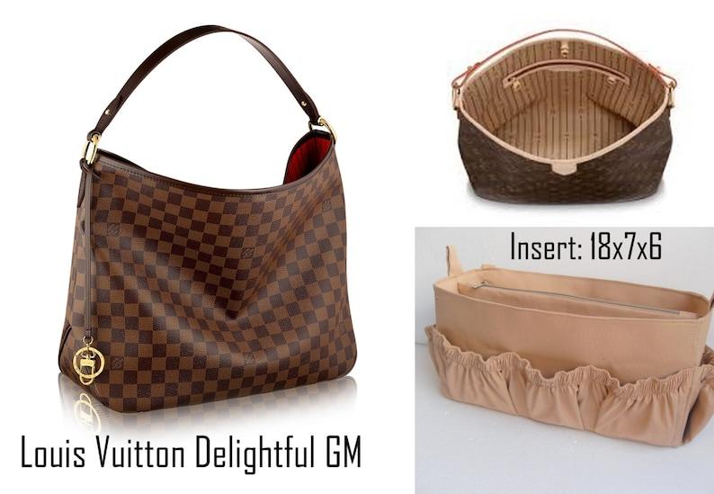 630088bc5d20 Diaper Purse insert fits Louis Vuitton Delightful GM Diaper