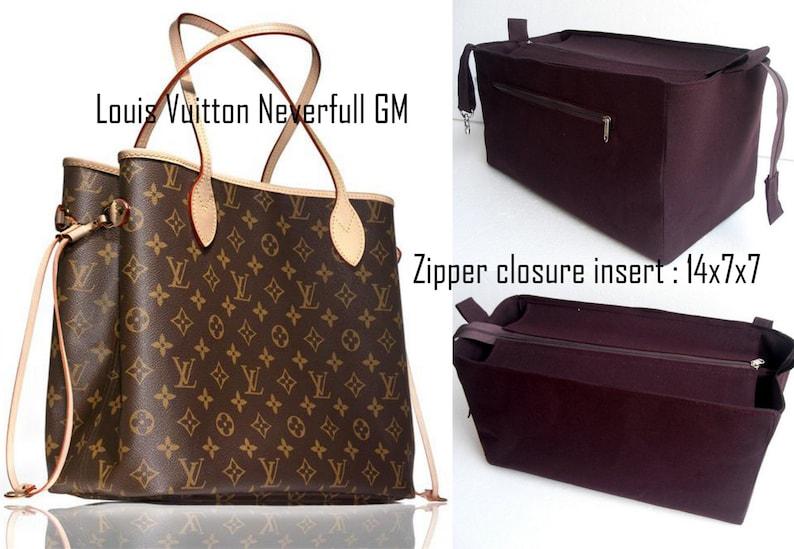 7dc7e39d9 Purse organizer for Louis Vuitton Neverfull GM with Zipper | Etsy