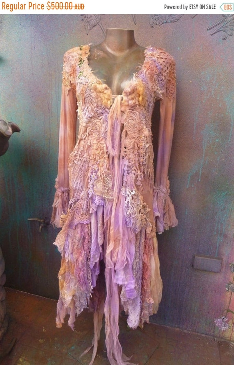 20%OFF woodland designer handmade victorian jacket  fantasy image 0