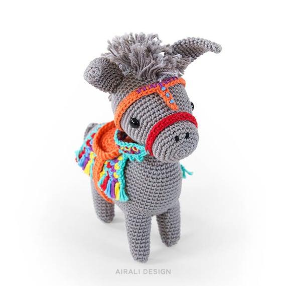 pedro the amigurumi donkey amigurumi crochet pattern etsy