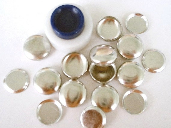 FLAT BACKS Cover Button Starter Kits