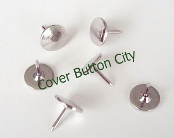 25 Thumb Tacks - Push Pins for Covered Buttons