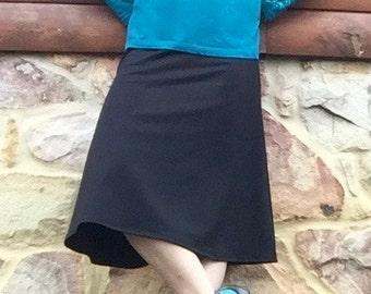 PLUS Size - Revamped Straight-A Swim Skirt Modest Running Skirt -Ultra CHLORINE RESISTANT option