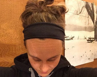 Cotton/Spandex Headband Running Headband with rolled edges gift for women Christmas gift