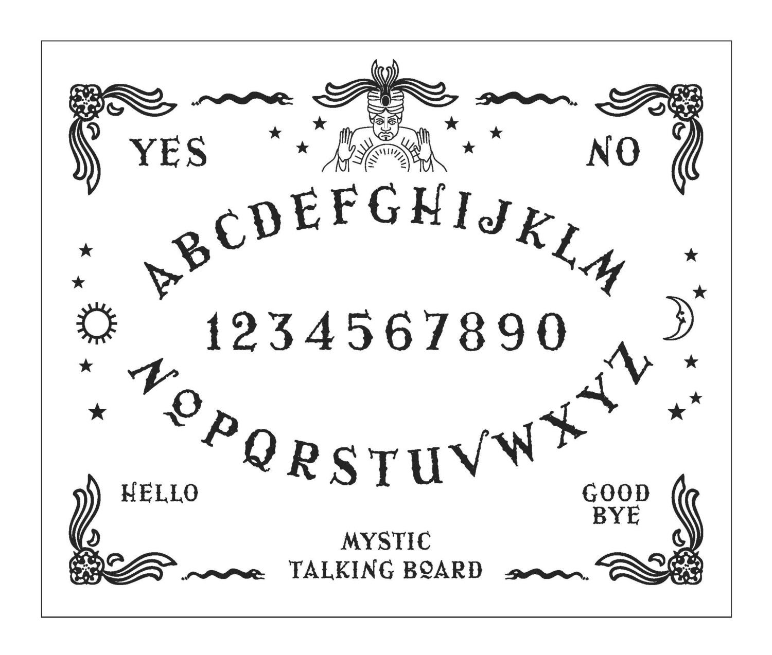 Ouija Board Hand Embroidery Sampler 2 X Patterns Pdf File Etsy