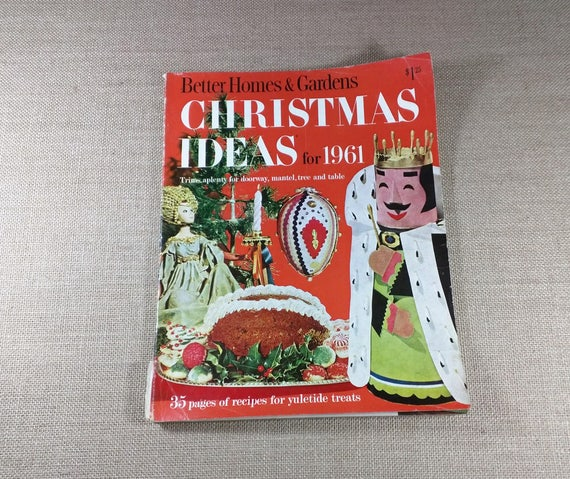 Vintage Better Homes & Gardens Christmas Ideas for 1961 | Etsy
