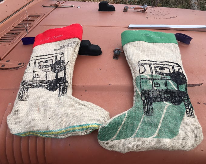 40 series Land Cruiser Christmas Stocking