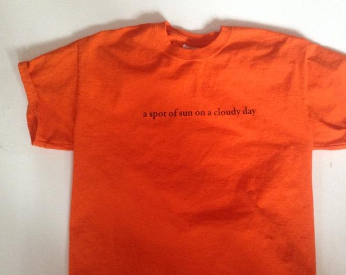 A spot of sun Land Cruiser LandCruiser Teq  Bright orange shirt  small through XLarge
