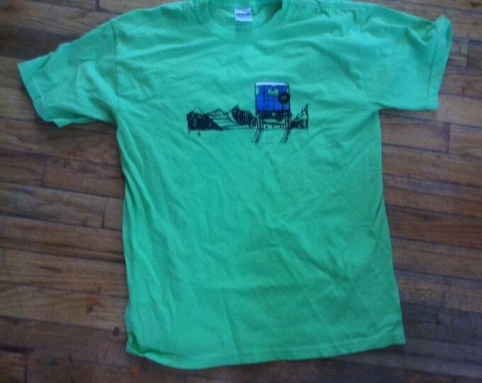 FJ40 Series Land Cruiser LandCruiser Adult medium green Tshirt