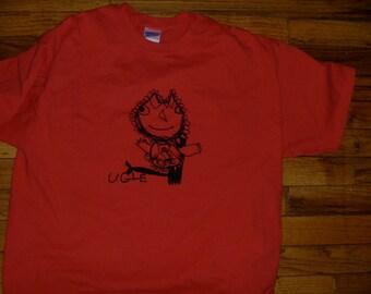 Sale! Ugle (Owl) shirt  Norwegian Series Designed by Katya Paprika Adult Large