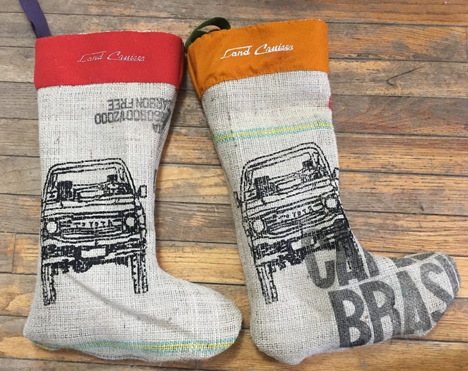 60 series Land Cruiser Christmas Stocking