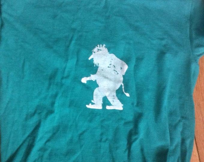 Norwegian Troll Shirt Youth Small green