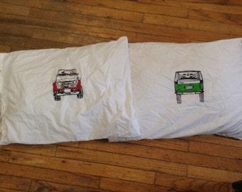 Sweet dreams! FJ55 55 series Land Cruiser pillow cases standard size pair
