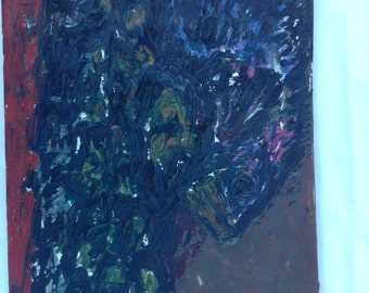 Untitled original oil on canvas 1991 Scott Torkelson
