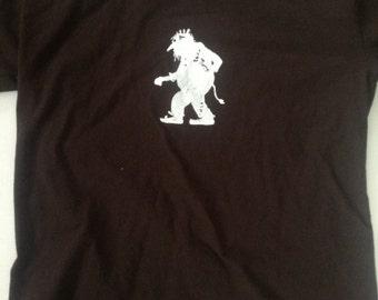 Norwegian Troll Shirt Dark Chocolate sizes adult