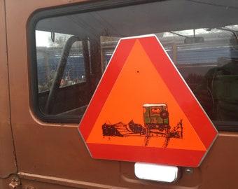 Fj40 Land Cruiser Landcruiser Metal Sign