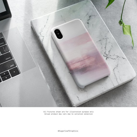 Pink Watercolor Art Phone Case Abstract Art Iphone Case Samsung Case Iphone X Case Iphone Xs Case Iphone Xr Case Iphone Xs Max Case