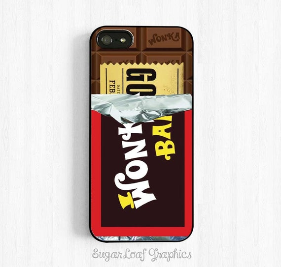 Willy Wonka Chocolate Bar Mit Golden Ticket Innen Wonka Bar Etsy