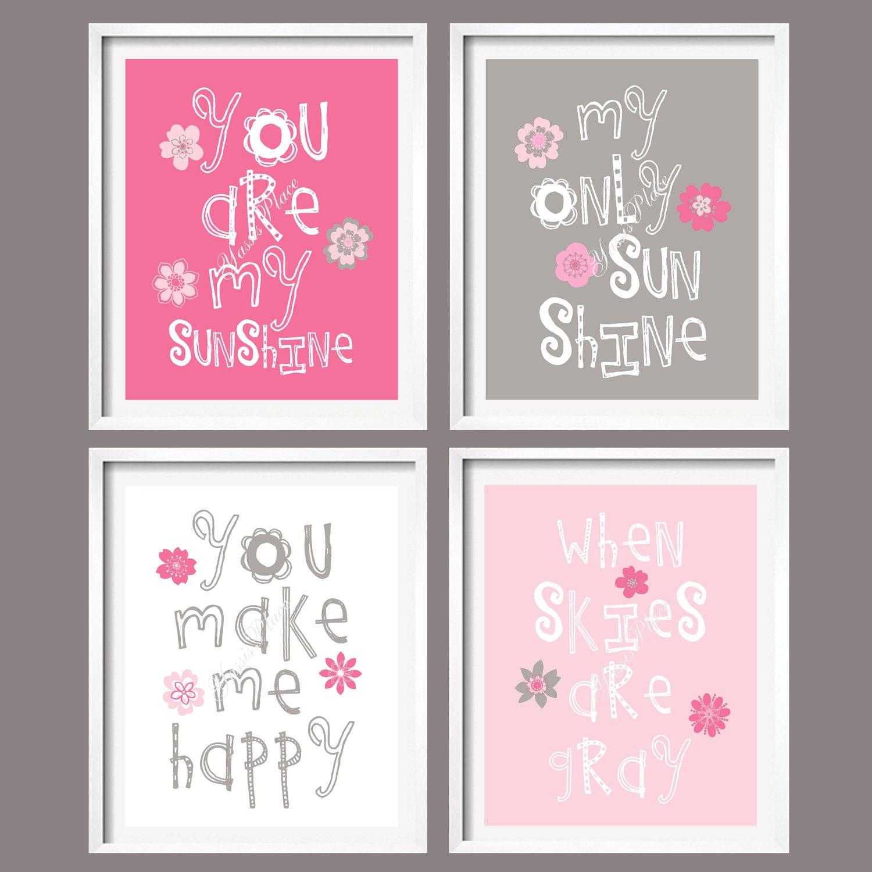 My Baby Girl S Nursery: Girl Art Prints Baby Girl Nursery Decor You Are My