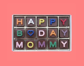 Mom Birthday Gift For Mother In Law From Daughter And Son 60th 70th Day Jelly Bean Cube